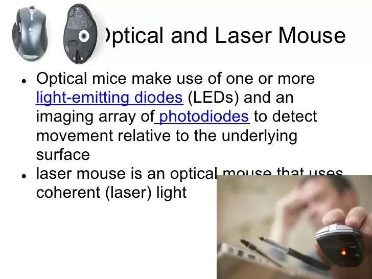 Difference Between Optical and Laser Mouse