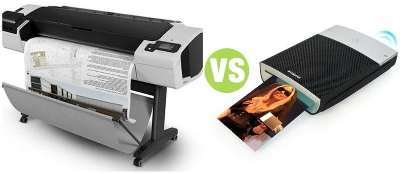 Difference Between Plotter and Mobile Printer
