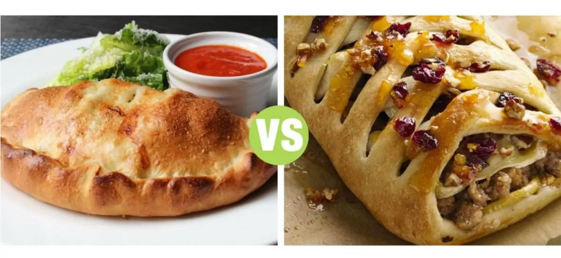Difference Between Calzone and Stromboli   Calzone vs Stromboli