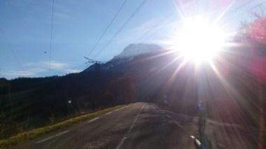 Long road climb!