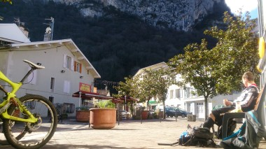Quaint little french village for lunch in the sun