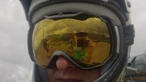 Ross' mega reflective goggles