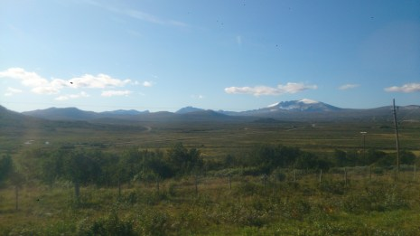 Some views over Oppdal on the way down, quite desolate feeling