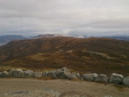 From the top of the first hill, Keiservarden, looking towards where I was headed