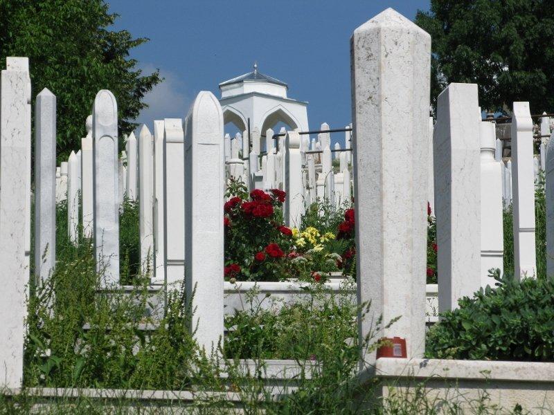 Alifakovac Cemetery Sarajevo