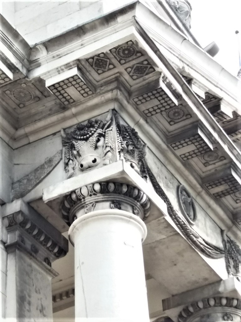 Customs House Pillars