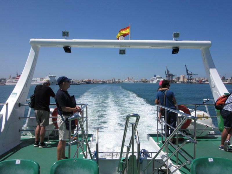 Catamaran in Cádiz