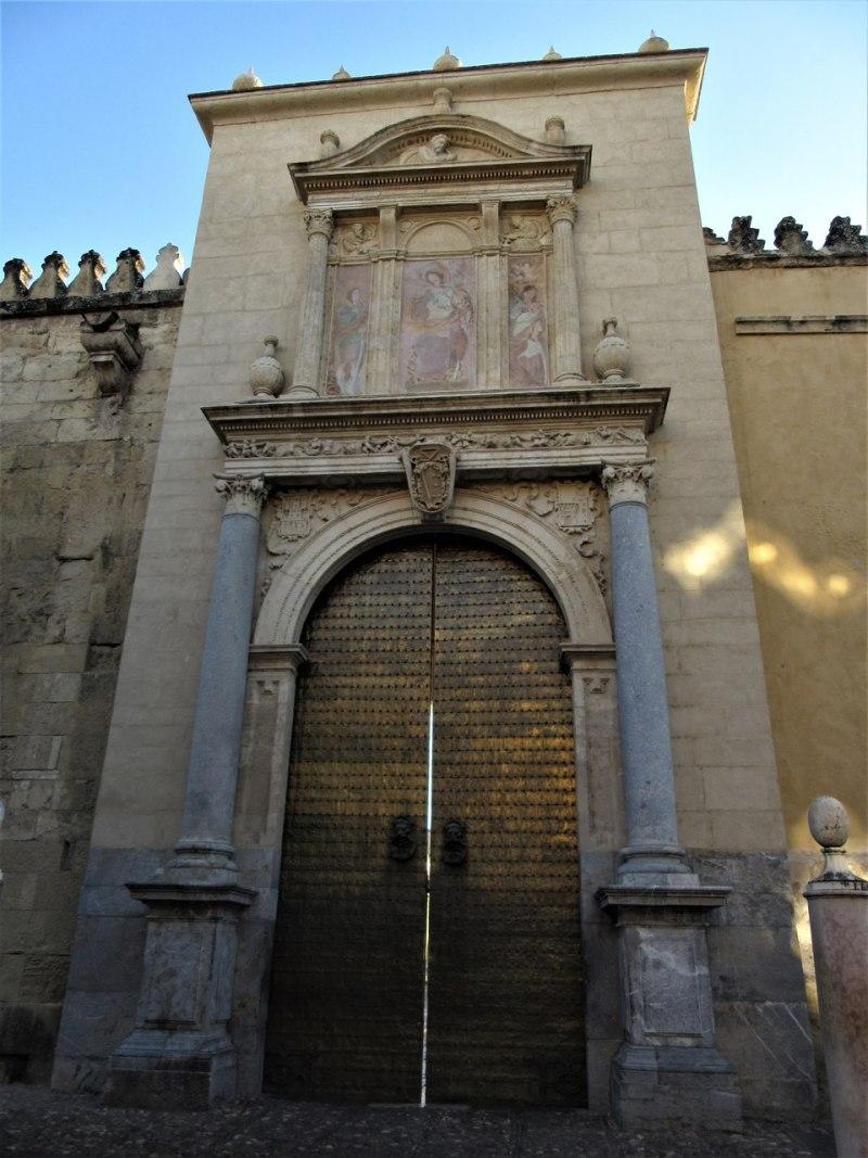 Gate to Mezquita in Córdoba