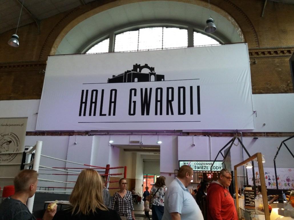 Warsaw Market  Hala Gwardii