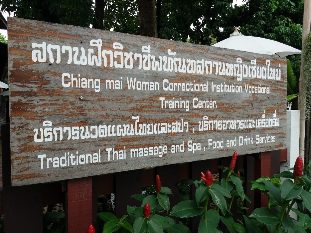 Prison massage in Chiang Mai