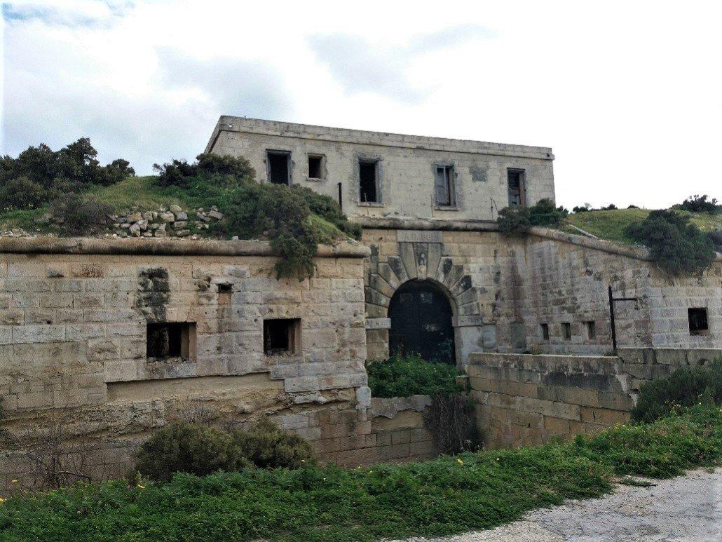 Delimara Fort at Delimara Point
