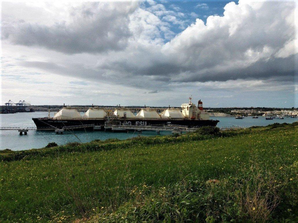 Delimara Point gas tanker