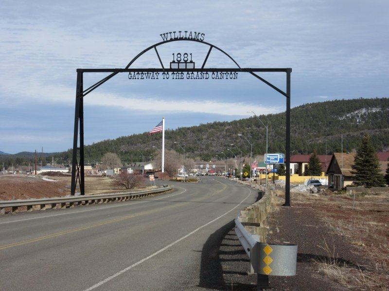 Williams AZ Gateway to the Grand Canyon