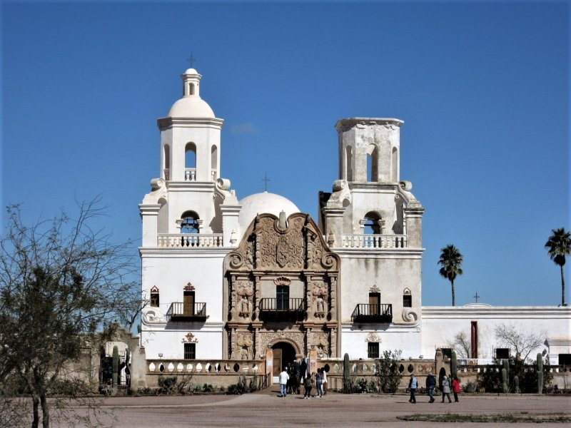 Mission San Xavier del Bac, Tucson Arizona