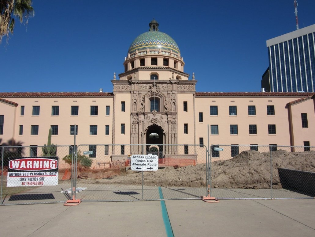 Courthouse in Tucson Arizona