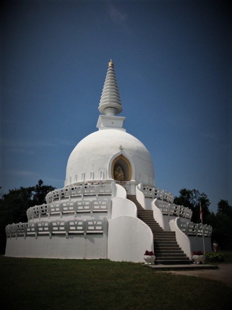 Zalaszántói Sztupa stupa in Zalaszántó Hungary
