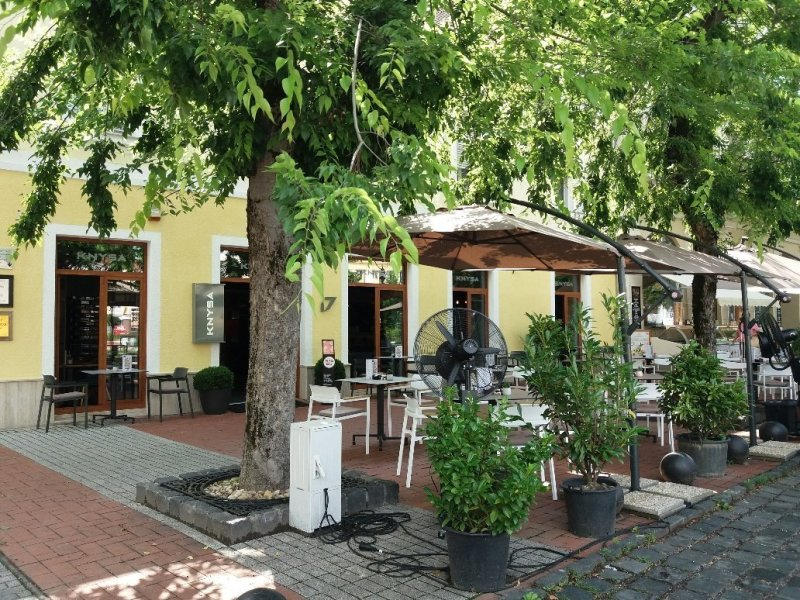 KNYSA kitchen and bar in Nagykanizsa Hungary
