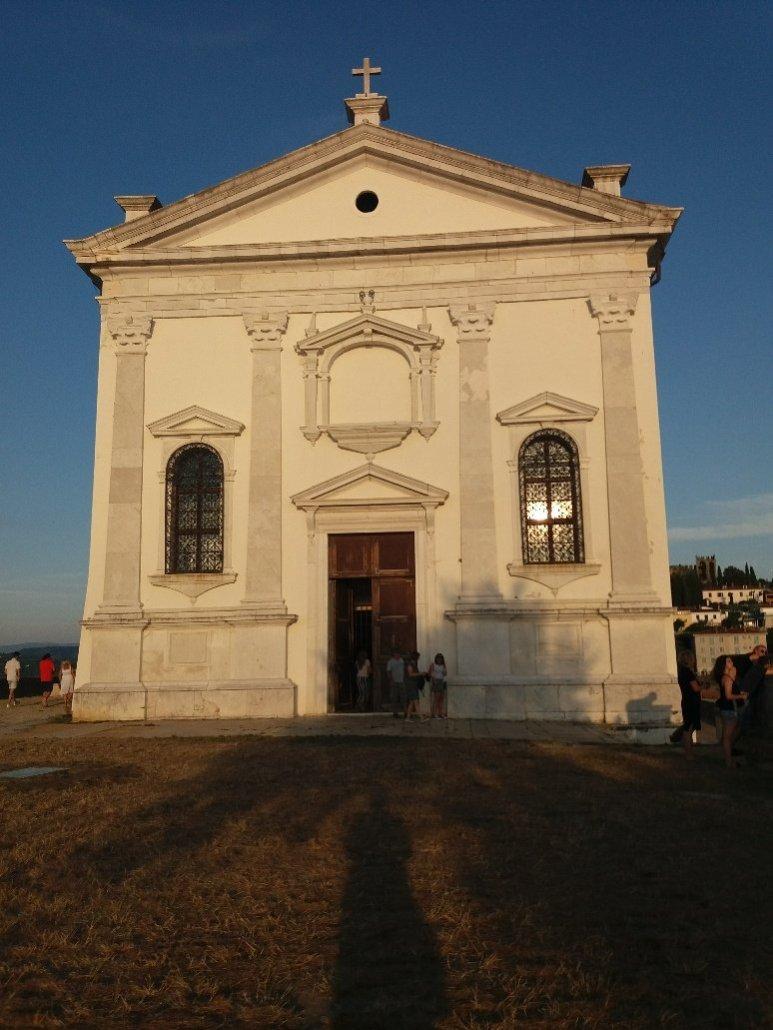 St George's church in Piran