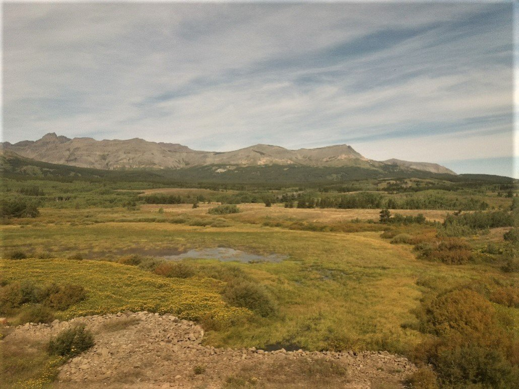 Scenic view from the Empire Builder