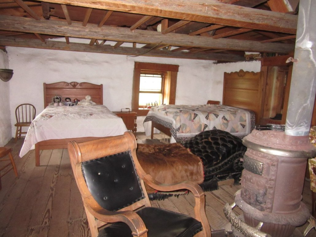 Interior of the Little Sod House on the Praire, MN