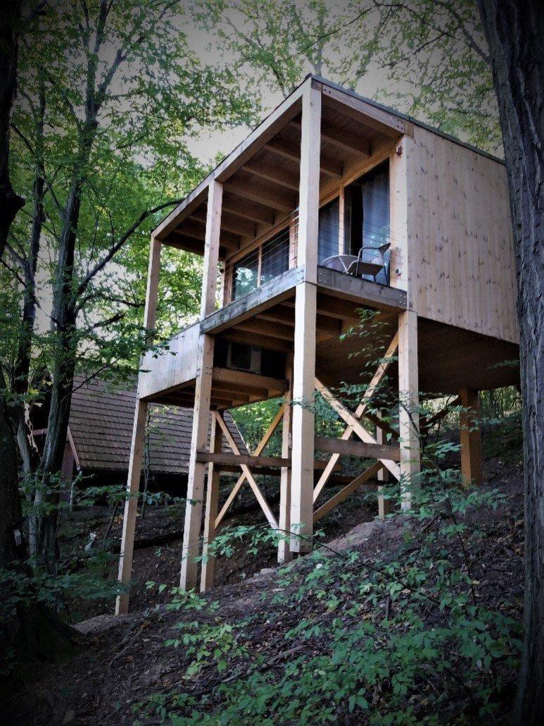 Noszvaj Treehouses