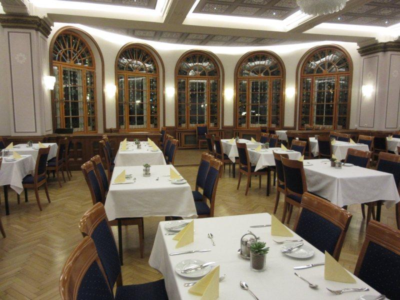 Hunyadi restaurant in the Hungest Palota Lillafüred