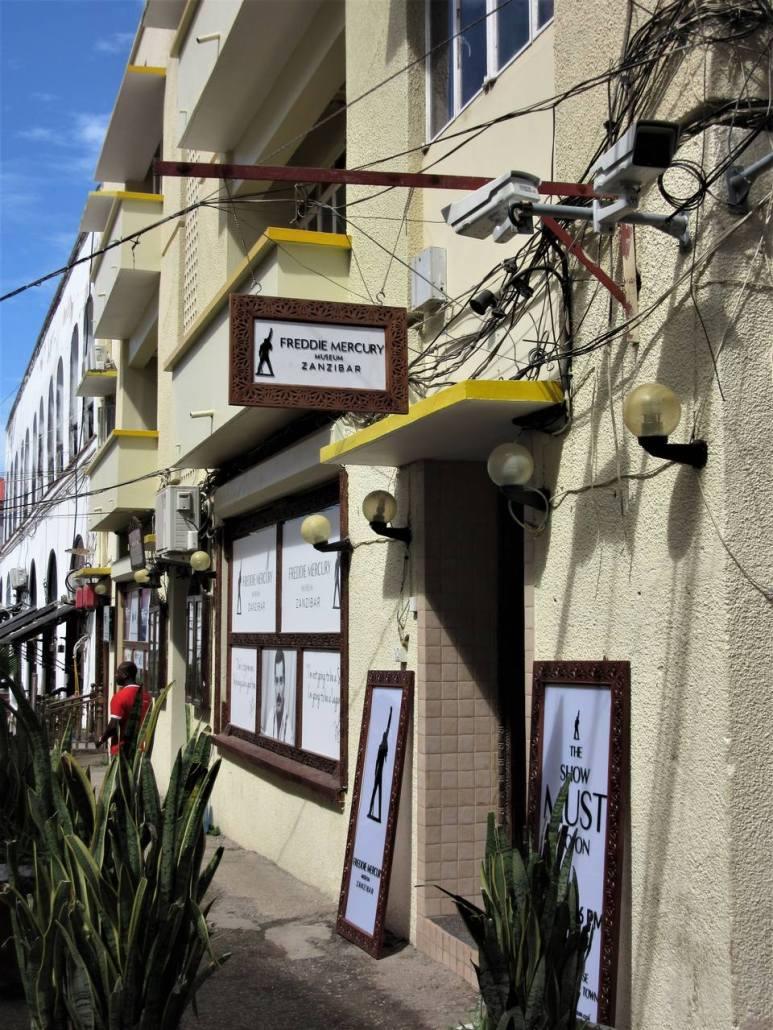 Freddie Mercury Museum Stone Town Zanzibar