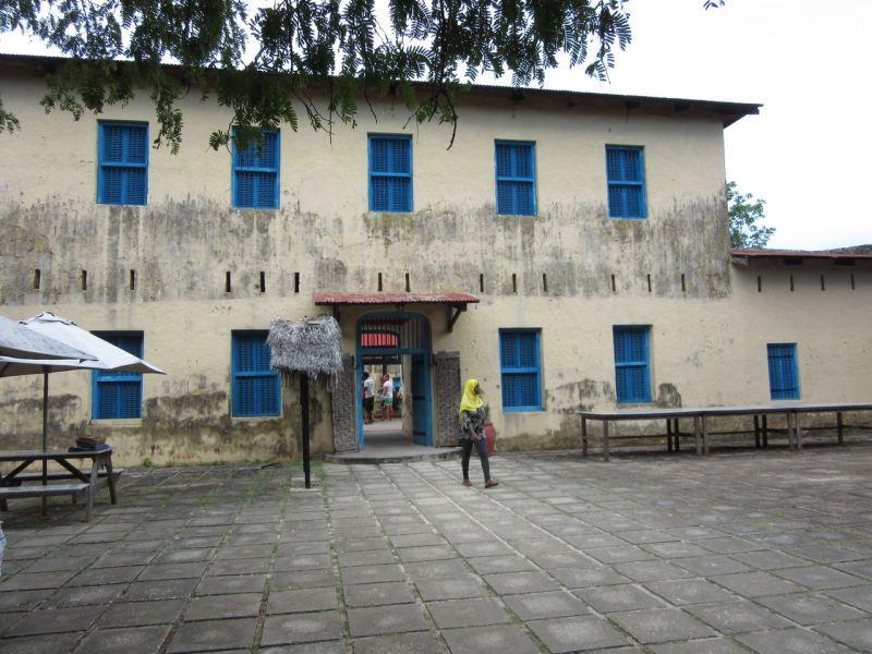 The old prison on Prison Island