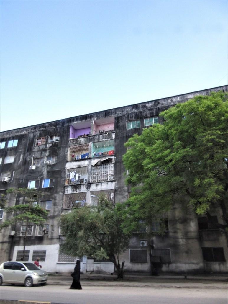 Michenzani flats. Zanzibar city