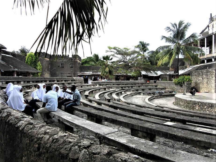 Amphitheatre inside the Old Fort, Stone Town, Zanzibar