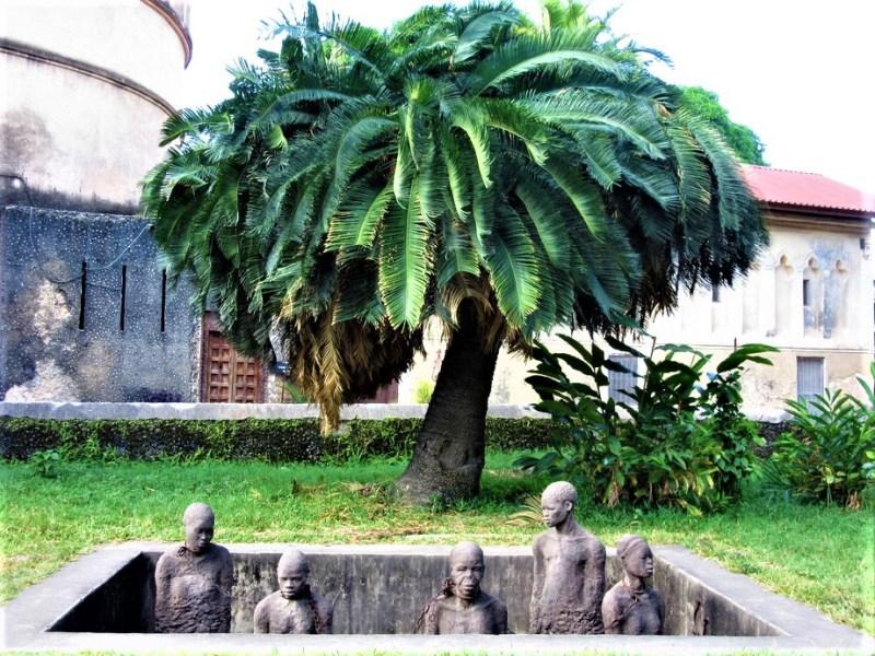Slave monument Zanzibar
