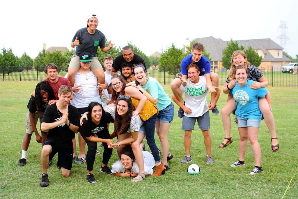 UNT Campus Ministry Students