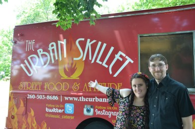 Food truck catering! Good eats. Sarah and Joe present...