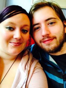 Myself and the boyfriend, another non-parent caregiver, who is absolutely amazing with my daughter.