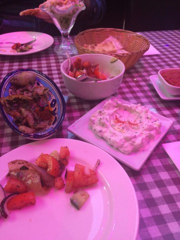 Our cold Mezze dishes