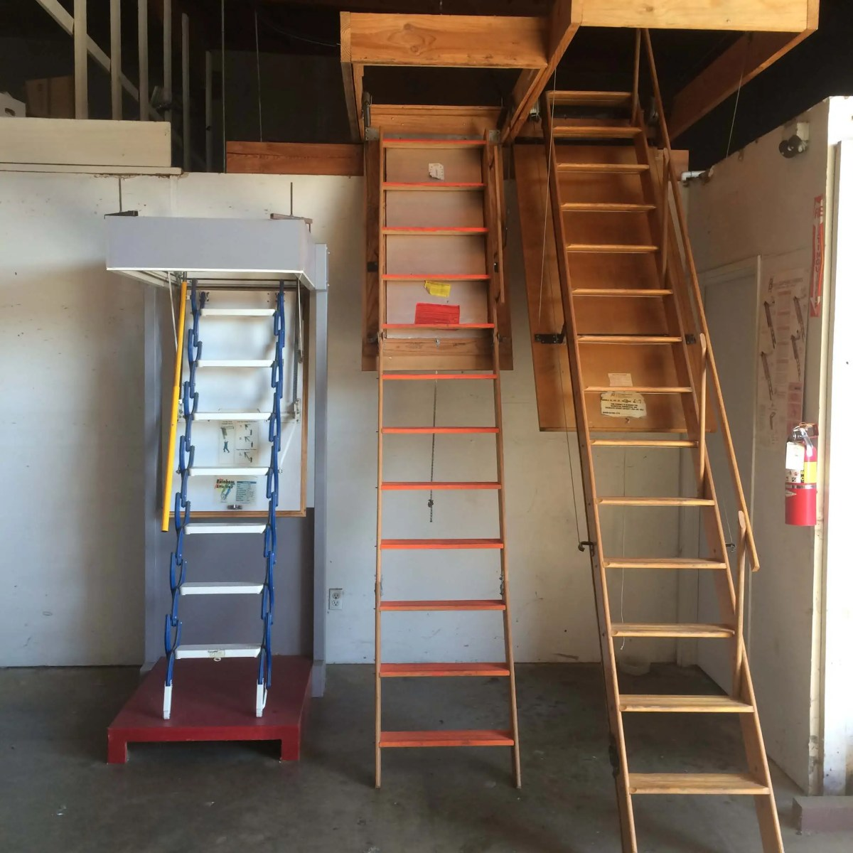 Attic Ladders, Fire Rated Attic Ladders, Attic Ladders Sacramento, Attic Ladders San Jose, Attic Ladders Bay Area