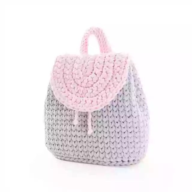 Háčkovaný batoh