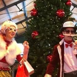 Mrs. Merry & Mr Christmas - small cut