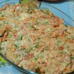 Рыба в сырном соусе