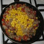 Говядина с фасолью и кукурузой по мексикански 2