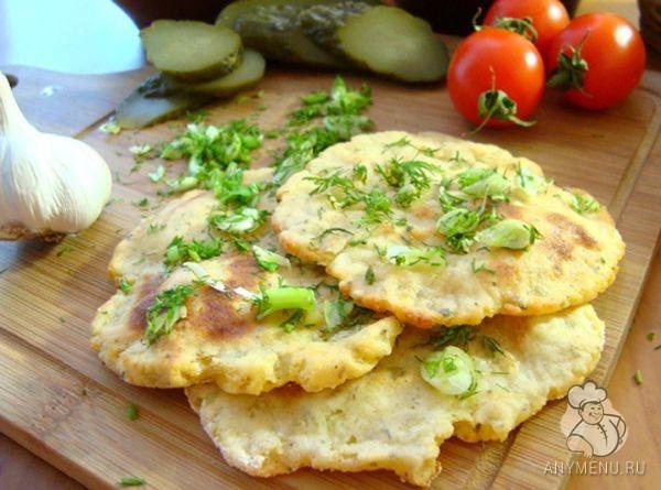 Ароматные картофельные лепешки постные4