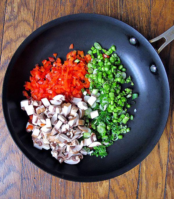 Овощной ролл с рисом2