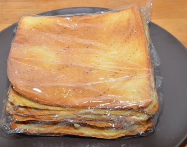 Торт Наполеон10