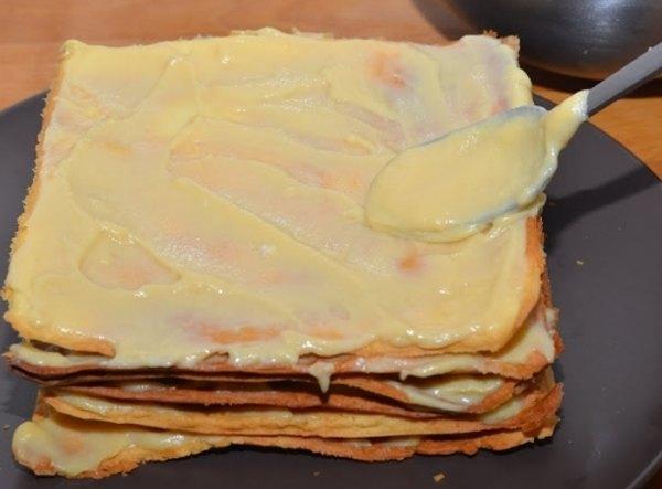 Торт Наполеон9