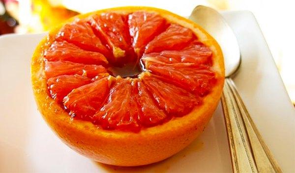 Запеченный грейпфрут