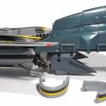 Bandai DX Armored VF-25 9