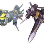 DX Armored Ozma Line art 1
