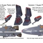 VF-25 Super Parts Comp 4C