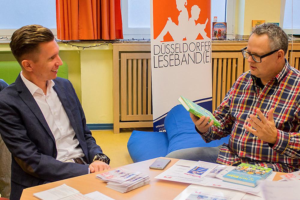 Düsseldorfer Lesefest mit Mathias Kossmann und Ulli Potofski