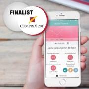 UX-Design-Awards 2017 Nominiert Rosacea-Tagebuch App anyMOTION Internetagentur Digitalagentur Galderma Titel